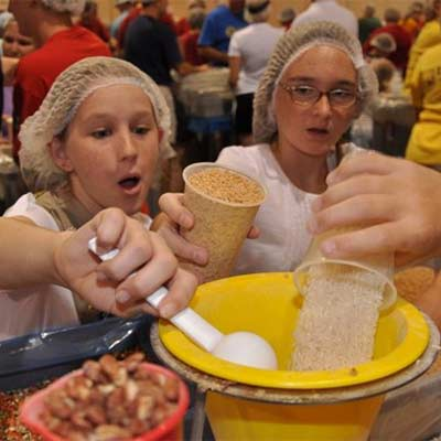 Kids Volunteering | Meals of Hope Marco Island - Meal Packing to End Hunger