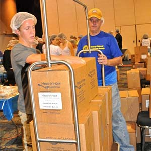 Moving Food | Meals of Hope Marco Island - Meal Packing to End Hunger