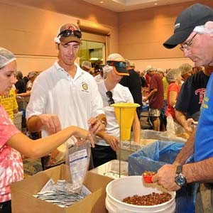 Volunteers at Work | Meals of Hope Marco Island - Meal Packing to End Hunger